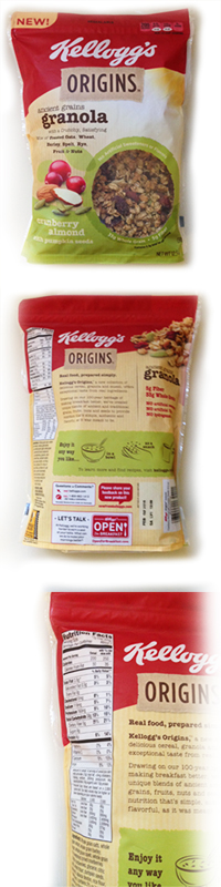 BrandDirections Packaged Findings: Kellogg's Origins Granola