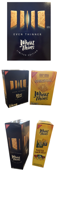 Nabisco EVEN THINNER Wheat Thins